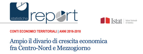 Divario Nord - Sud, il Segretario Generale Francesco Cavallaro commenta gli ultimi dati Istat